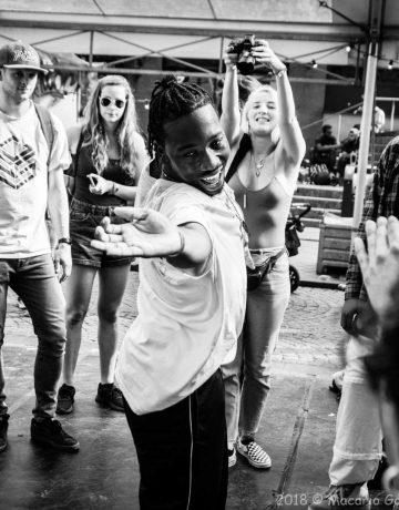 Hassani, dansinstructeur Trivium Sport en dance