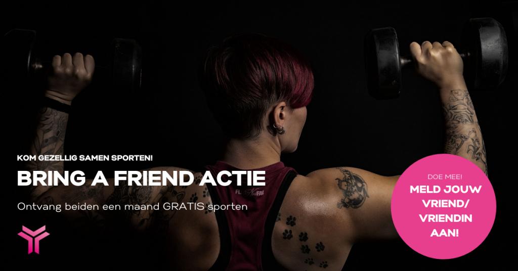Bring a friend actie I Trivium Sport Etten-Leur